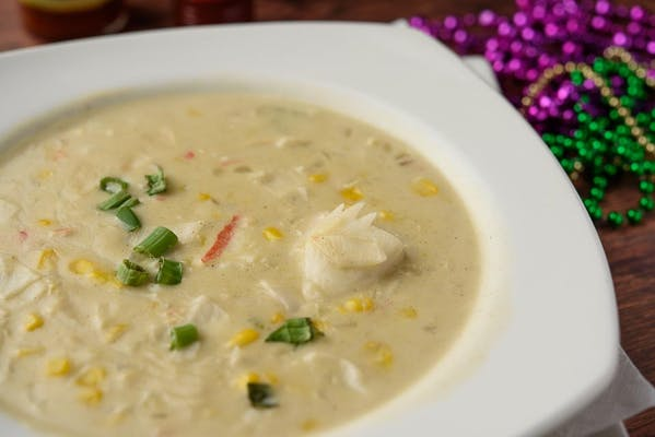 Creole Crab Corn Soup