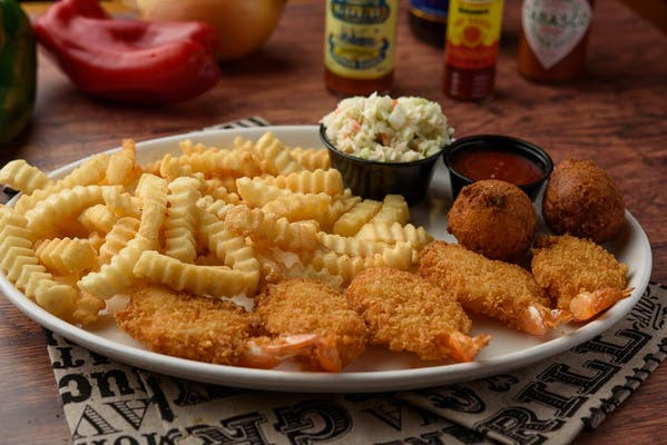 Southern Fried Shrimp Dinner