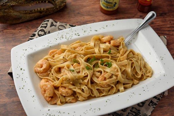 Shrimp Fettuccine Alfredeaux