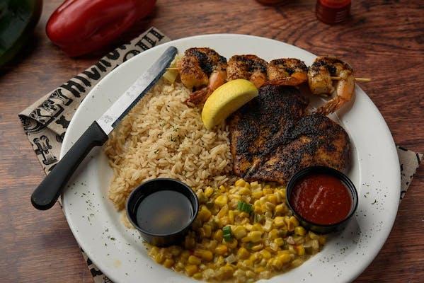 Blackened Fish & Chicken Combo