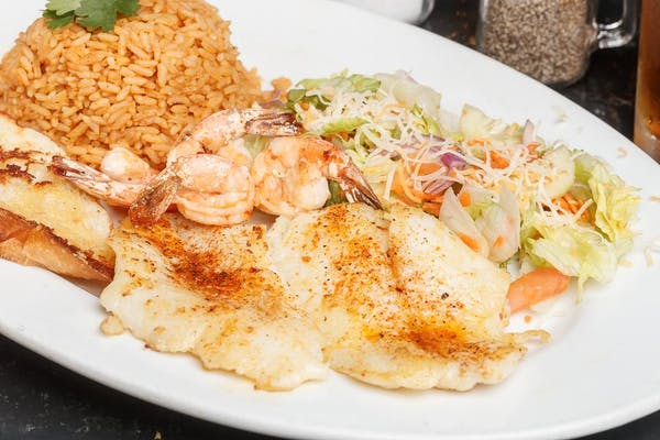 Grilled Catfish @ Shrimp Plate