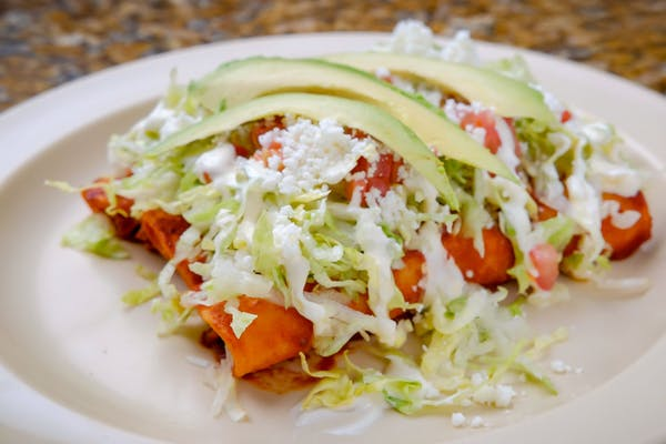 #4 Enchiladas Combo