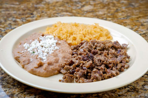 Kid's Protein, Rice & Beans Plate