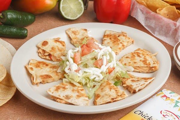 Mexican Pizza Quesadilla