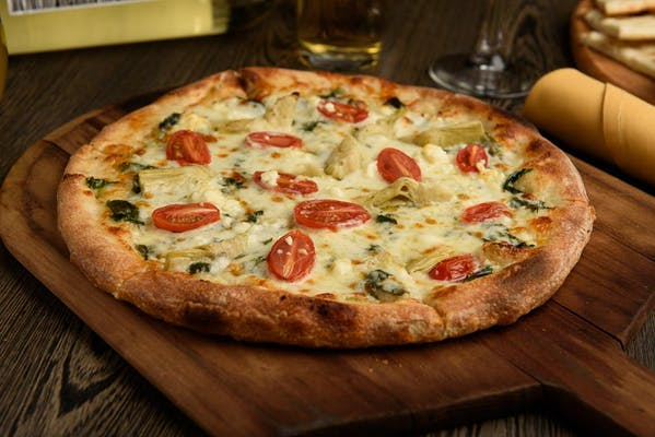 Spinach & Artichoke Pizza