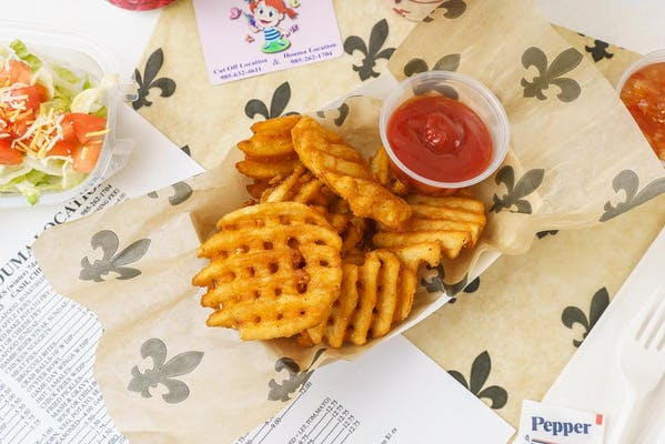Cajun Waffle Fries