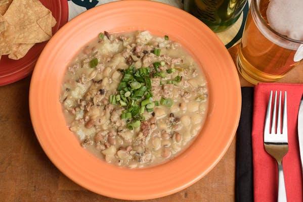 Slow Bean & Rice Stew