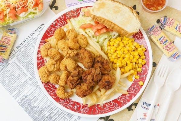 Oyster & Shrimp Platter