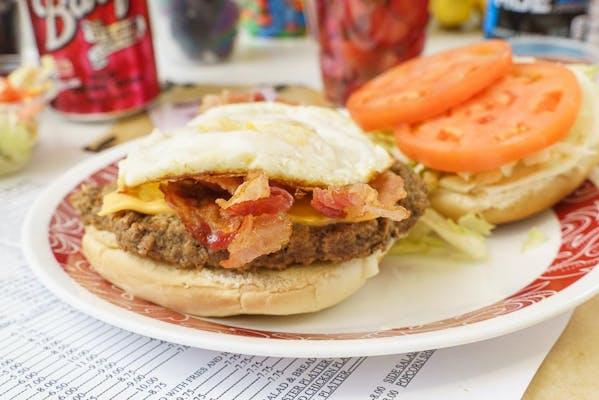 Hangover Hamburger Combo