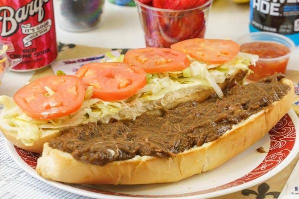 Roast Beef Poboy Combo