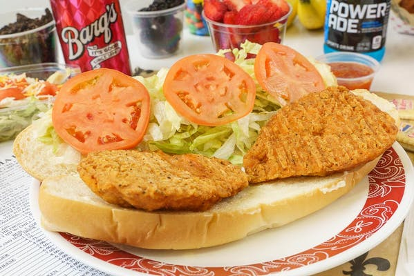 Chicken Poboy Combo