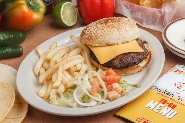 Kid's Cheeseburger & Fries