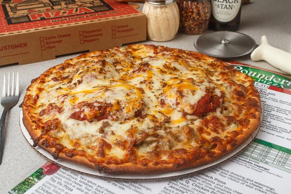 "Nameless Special ""House Pizza"""