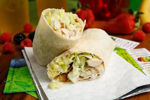 Chicken, Bacon & Avocado Wrap