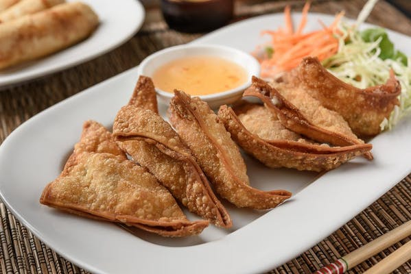 A2. Creamy Crab Wonton (Crab Rangoon)