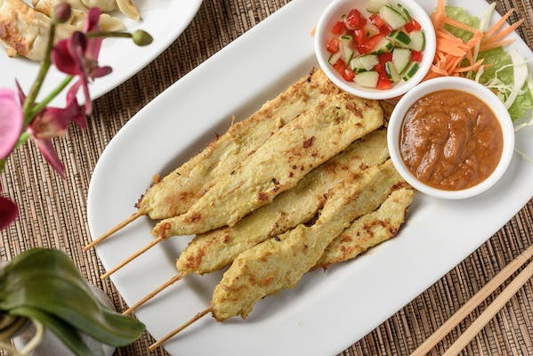 A4. Satay (Signature Grilled Chicken on a Stick)