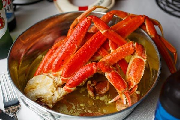 L9. Snow Crab Leg & No Head Shrimp