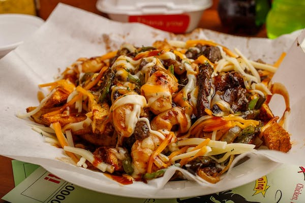 Rodeo Cheezy Big Daddy Fries