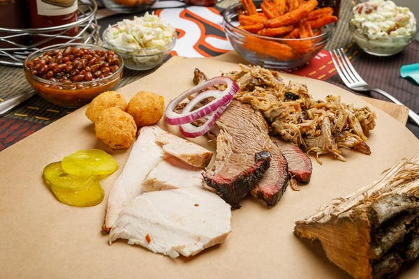 (3) BBQ Meat Plate
