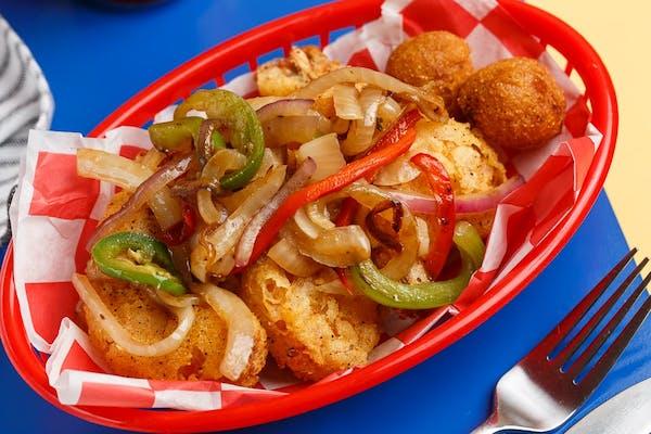 Salt & Pepper Shrimp Platter