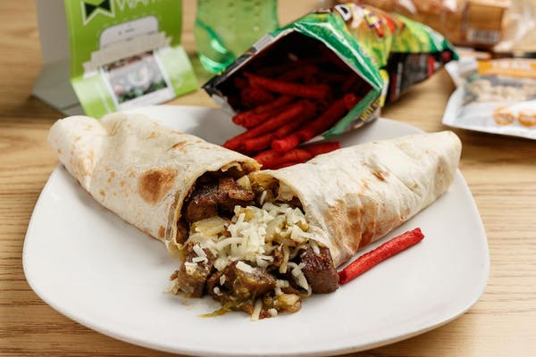 Steak & Potato Burrito