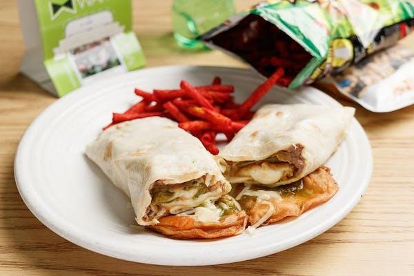 Green Chile Beef Burrito