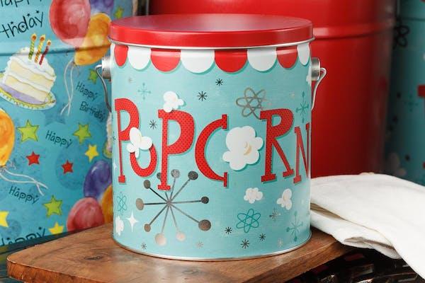 Popcorn Blast Popcorn Tin