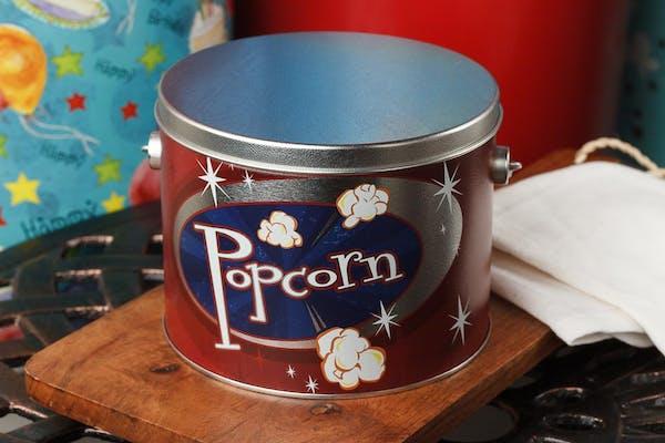 (½) Gallon Retro Popcorn Tin