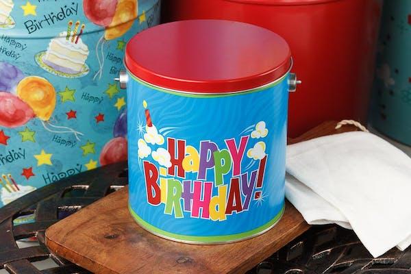 Birthday Pop Popcorn Tin