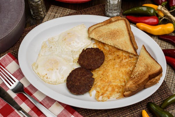 Two Eggs & Protein Plate