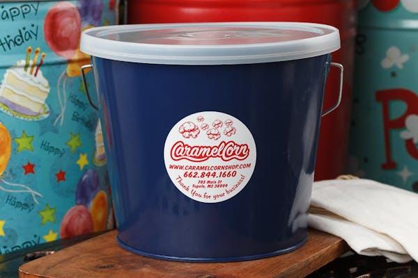 (5 qt.) Navy Blue Popcorn Tin