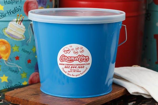 (5 qt.) Sky Blue Popcorn Tin