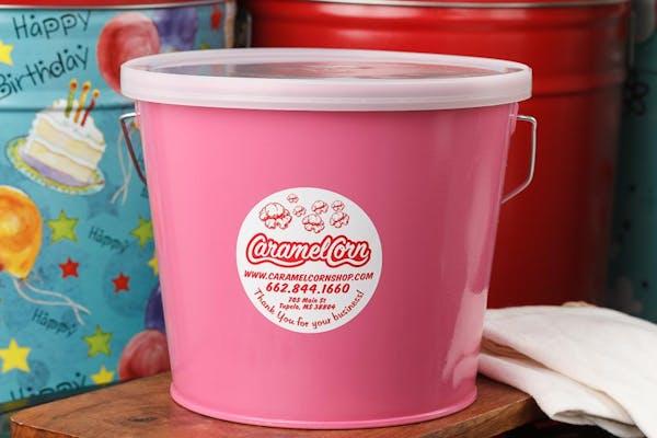 (5 qt.) Pink Radiance Popcorn Tin