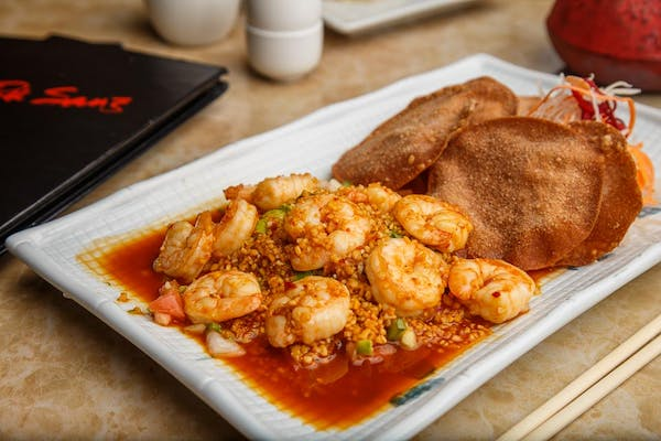 Hot Wok Tiger Shrimp