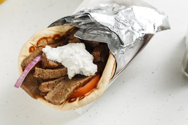 Gyros Greek Sandwich