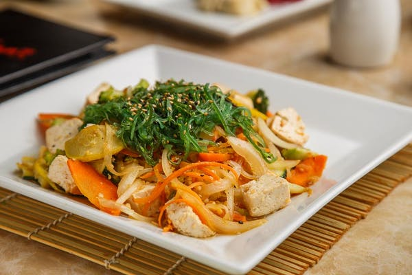 Garlic Sesame Tofu