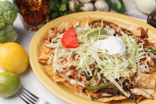 Grilled Fajita Nachos
