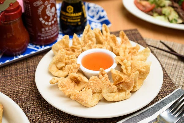 Fried Cream Cheese Wonton