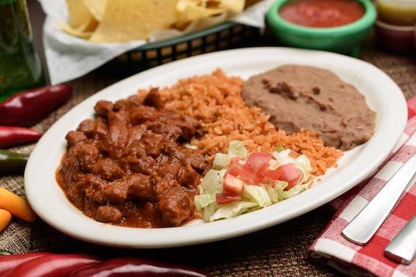 Chile Rojo Plate