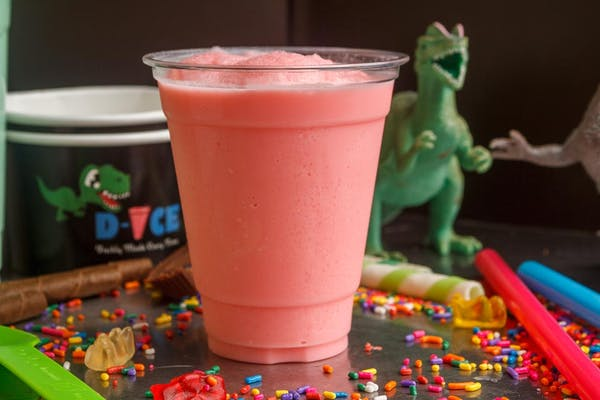Strawberry Bubble Smoothie