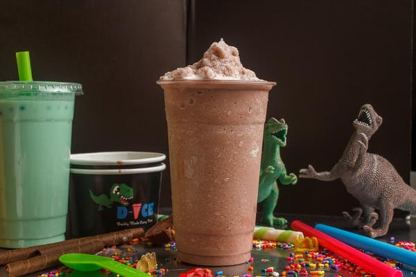 Chocolate Bubble Smoothie