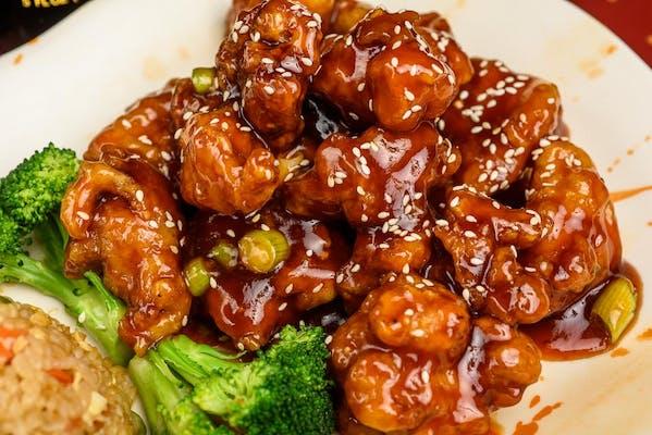 9. Sesame Chicken