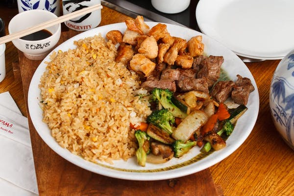 Chicken & Steak Hibachi