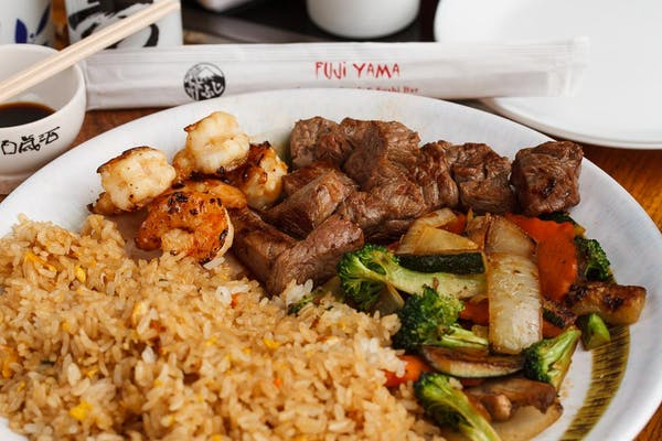 Steak & Shrimp Hibachi