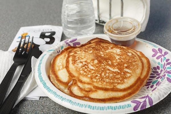 (1) Pancake, (1) Protein & (1) Egg