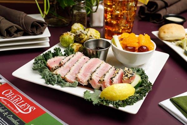 Ahi Tuna Dinner