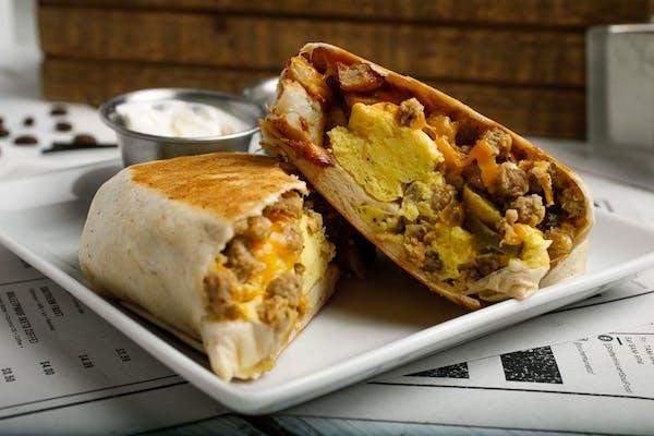 Western Breakfast Burrito