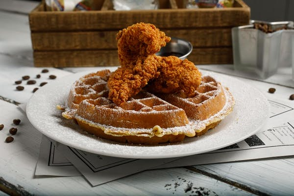 Slap Yo' Mama Chicken & Waffles