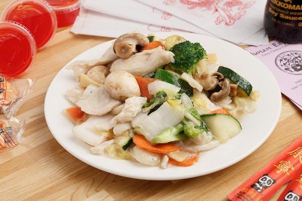 Lunch Moo Goo Gai Pan Combo