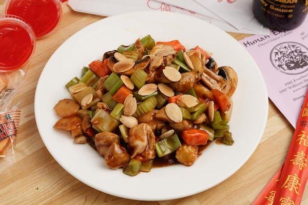 4. Chicken Almond (Lunch)